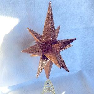 A Star Christmas Tree Topper